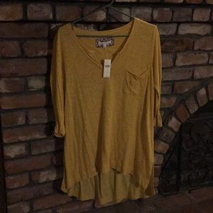 Mustard yellow Pure Good Tunic